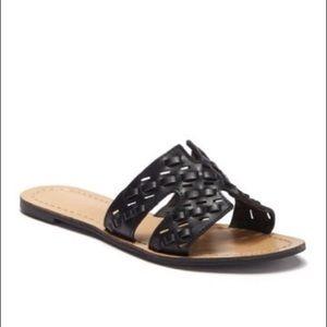 CHASE + CHLOE Teala Woven Flat Sandal Nordstrom